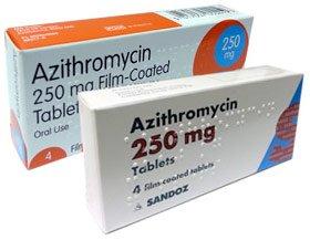 Dosagens de azitromicina